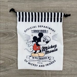 ❤️Mickey Mouse drawstring travel accessories bag🐭